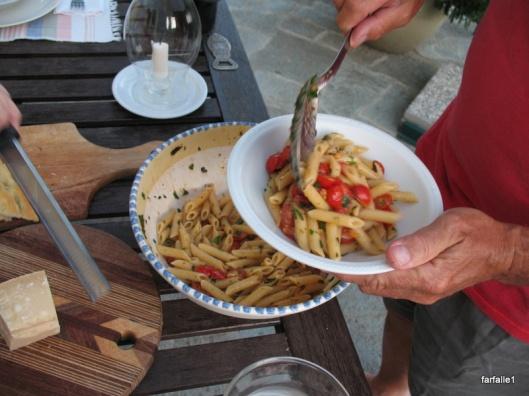 pasta fresh tom sauce