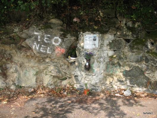 Teo's memorial