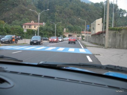 crosswalk blue