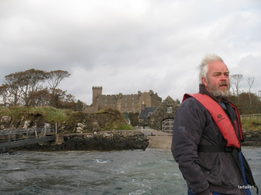Dunvegan Castle seal boat ride-1