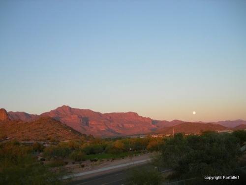 MoonRise12-1-09 by Laura