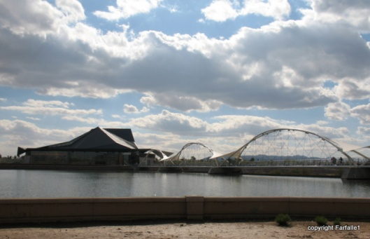 Tempe Art Center and bridge