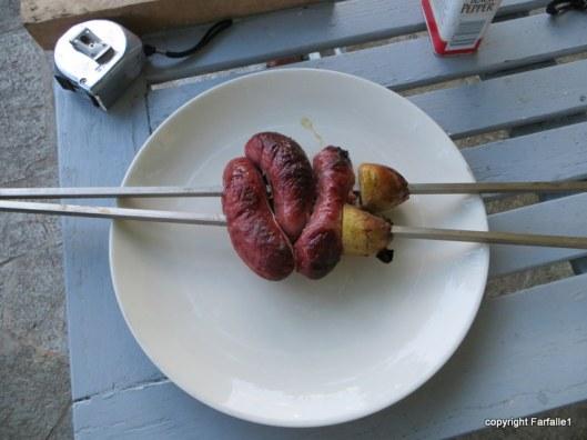 tandoor sausage