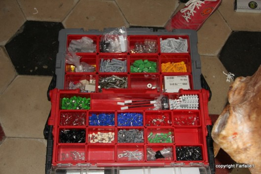 My favorite collection of gizmos - I want a box like this!