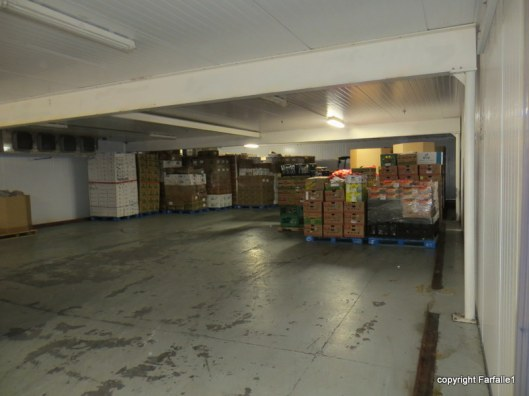 United Food Bank Tour cold storage-001