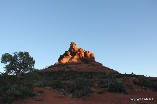 Bell Rock at sunset-003