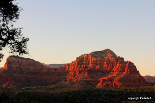 sedona rocks in long light-002