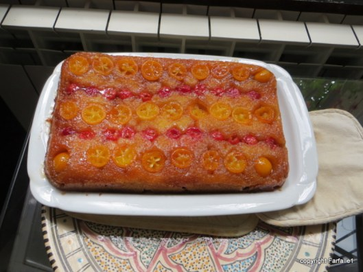 kumquat and cherry upside down cake-002