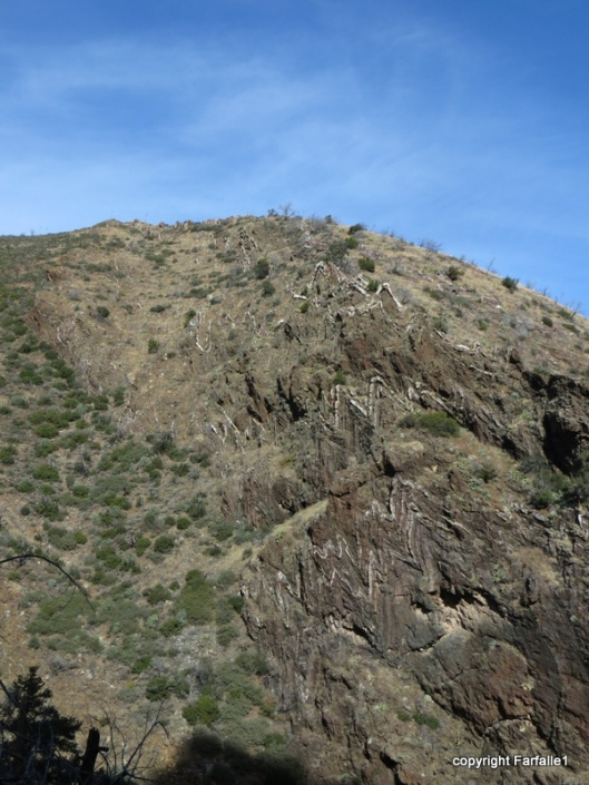Upper M rocks