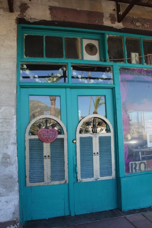 Superior House Tour flower shop door