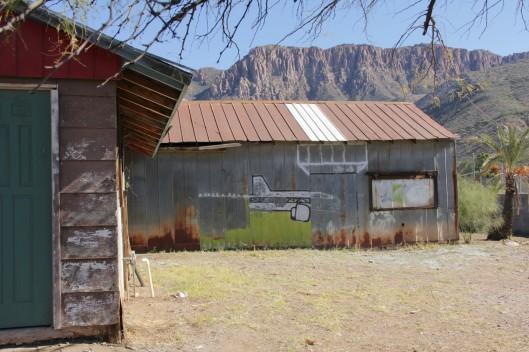 Superior House Tour painted building plane