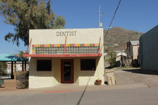 Superior House Tour painted sign dentist