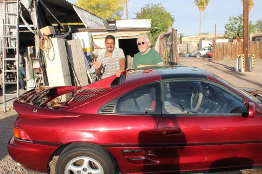 Eddy, Louis and the MR2